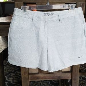 NWT Women's Nike Golf Dry Fit Shorts